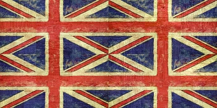 Michelle Calkins - British Flag Collage Two
