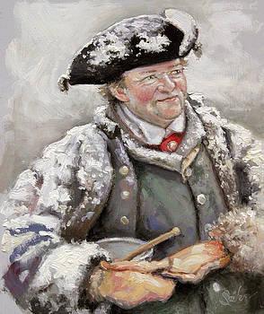 British Fur Trader- Dinner Time by Larry Seiler