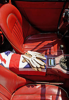 British Sports Car Interior by Norman Pogson