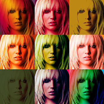 Britney Spears Bold Warhol by GBS by Anibal Diaz