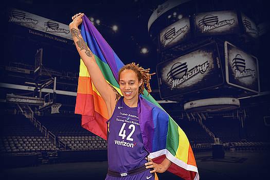 Brittney Griner LGBT PRIDE 1 by Devin Millington
