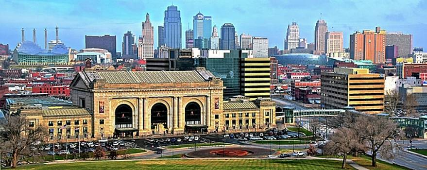 Broad View of Kansas City by Frozen in Time Fine Art Photography