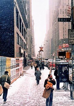 Robert Meyers-Lussier - Broadway and 42nd Street 1985