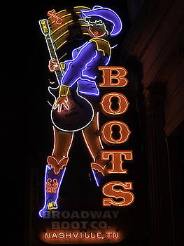 Broadway Boot Company by Kelly E Schultz