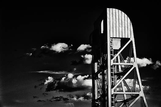 Broadway Bridge Abstract 5 Monochrome by Jeremy Herman