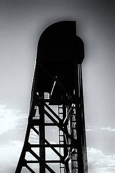 Jeremy Herman - Broadway Bridge North Tower Monochrome