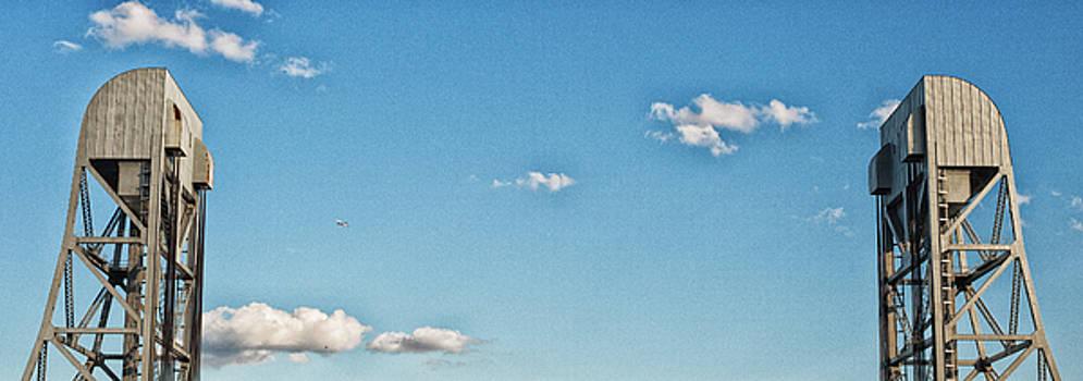 Broadway Bridge Sky 2 Chromatic by Jeremy Herman
