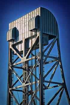 Broadway Bridge South Tower Detail 4 Chromatic by Jeremy Herman