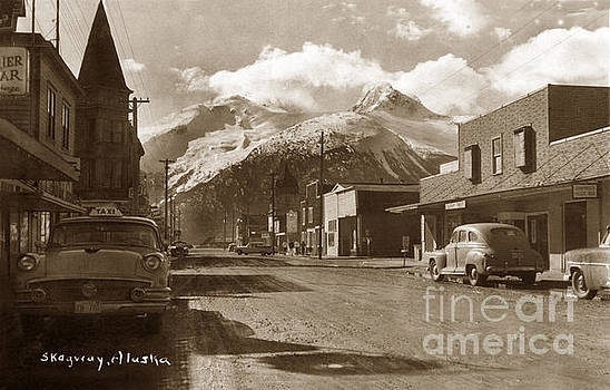 California Views Mr Pat Hathaway Archives - Broadway in Skagway Alaska street scene circa 1957