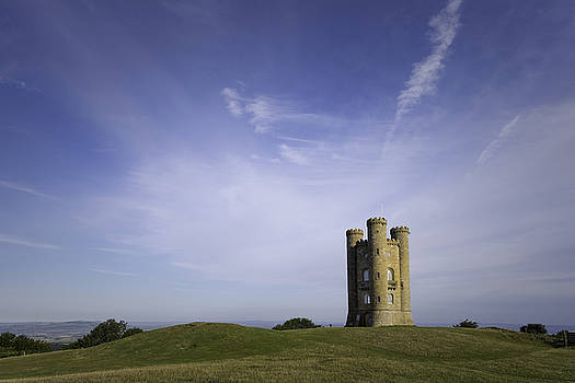 Broadway Tower on a Summer Day by Wendy Chapman
