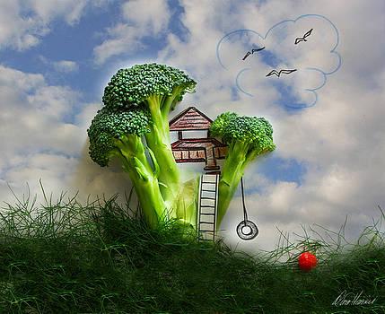 Broccoli Treehouse by Diana Haronis