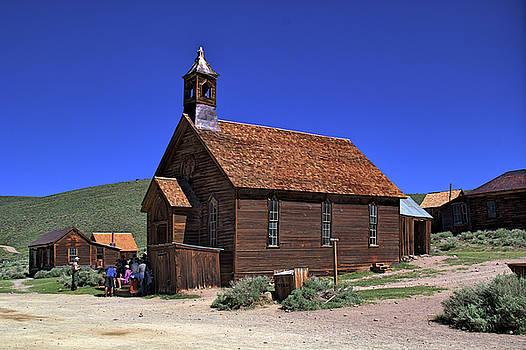 Bodie Church by Tom Winfield
