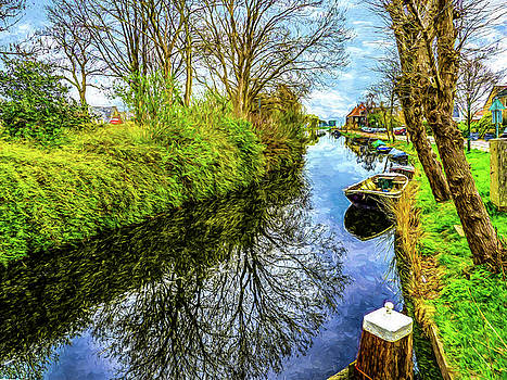 Broek in Waterland by Paul Wear