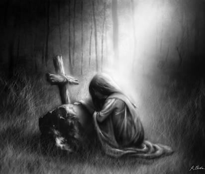 Broken and Contrite Heart by Ronald Barba