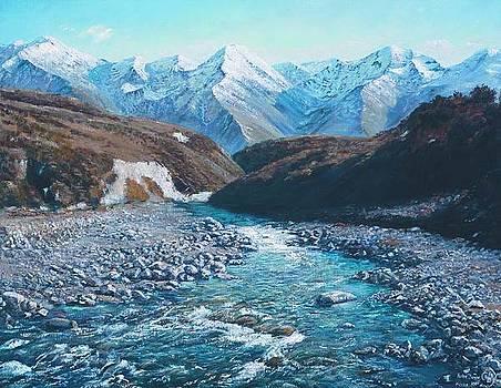 Broken River by Peter Jean Caley