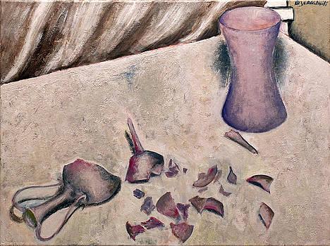 Broken vase by Vladimir Kezerashvili