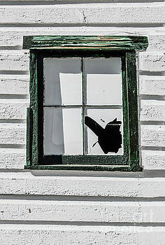 Broken Window by Thomas Marchessault