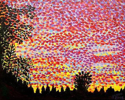 Alan Hogan - Bromarf Sunset