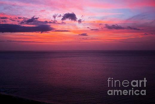 Bob Hislop - Bronco Sunrise in Panama