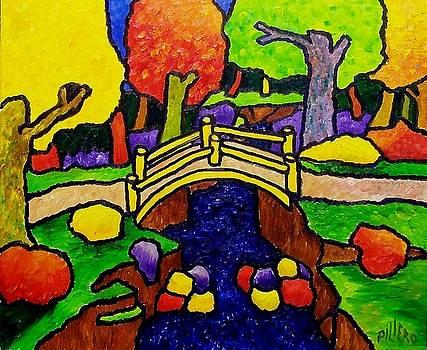 Bronx River Bridge seven by Nick Piliero