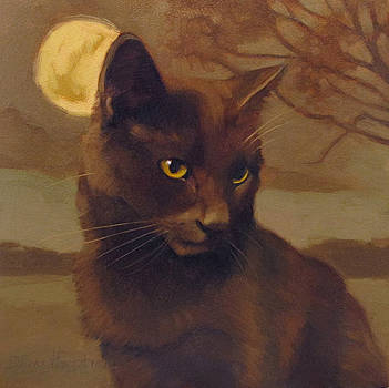 Brooding Coco by Diane Hoeptner