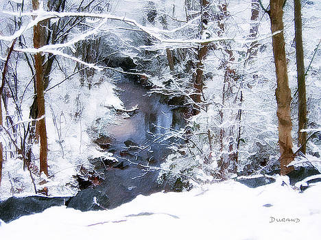 Brook Reflection by Celia Durand