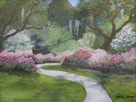 Brookgreen Gardens in Spring by Shirley Lawing
