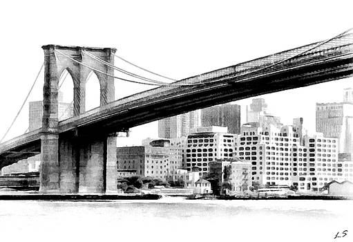 Brooklyn Bridge 01 by Sergey Lukashin