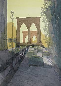Brooklyn Bridge by Bethany Lee