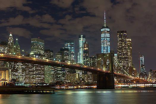 Brooklyn Bridge By Night by Brian Knott Photography