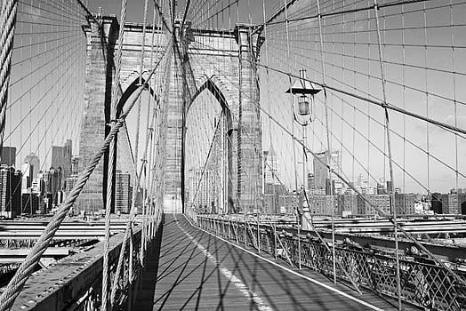 Brooklyn Bridge Deck by Andrew Kazmierski