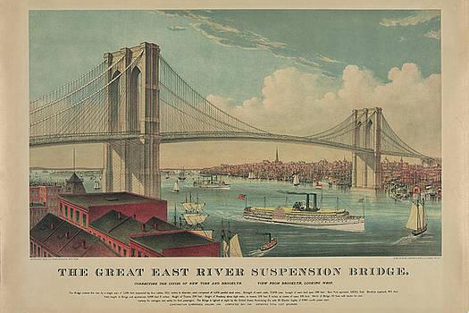 Brooklyn Bridge  by Eric Bjerke Sr