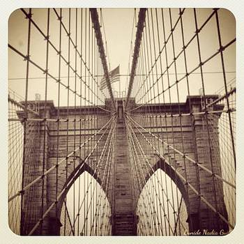 Brooklyn Bridge From My Point Of View! by Eunide  Guillet