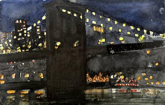 Brooklyn Bridge  by Jane Grover