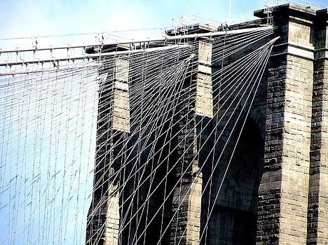 Brooklyn Bridge by Oksana Pelts