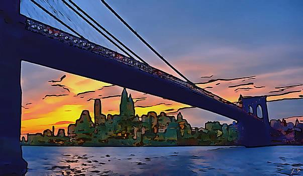 Brooklyn Bridge by Sergey Lukashin