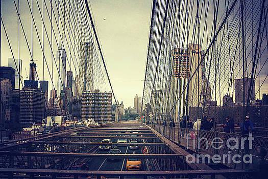 Brooklyn Bridge Traffic by Joan McCool