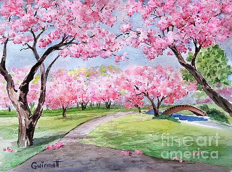 Brooklyn Cherry Blossoms by Kathleen Gwinnett