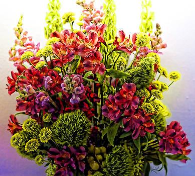Kevin  Sherf - Brooklyn Sidewalk Flower Sale