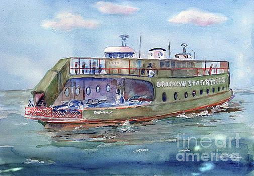 Brooklyn  Staten Island Ferry by Kathleen Gwinnett