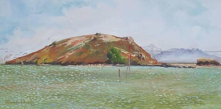 Brooks Island by Thomas Phinnessee