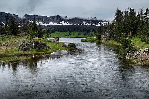 Brooks Lake Creek, Wyoming by Marie Leslie