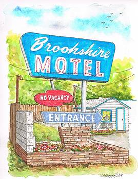 Brookshire Motel in Route 66, Tulsa, Oklahoma by Carlos G Groppa