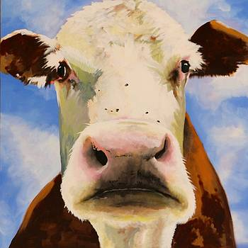 Brown Cow by Lori A Johnson