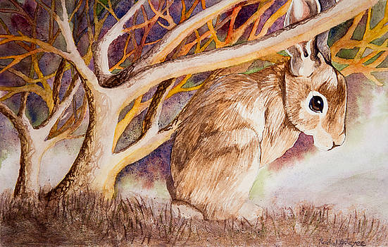 Brown Rabbit by Rachel Osteyee