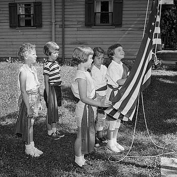 Brownies Respect the Flag by Eric Bjerke Sr