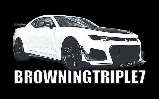 BrowningTriple7 Camaro by Chas Sinklier