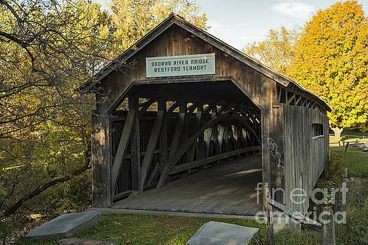 Bob Phillips - Browns River Covered Bridge