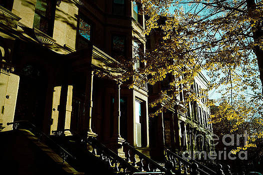 Onedayoneimage Photography - Brownstones at Dusk