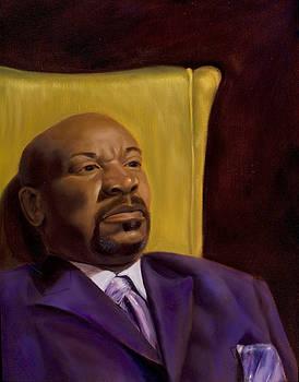 Bruce and His Purple Suit - 2009 by Serena Van Vranken
